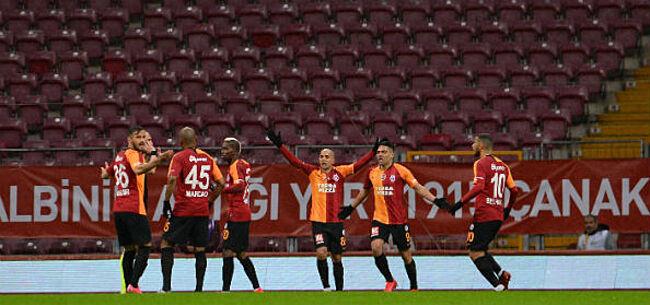 Foto: Turkije voetbalt lustig verder, want: