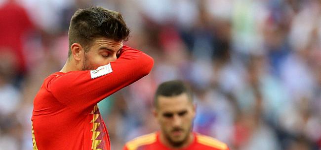 Foto: Spanje laat het afweten: