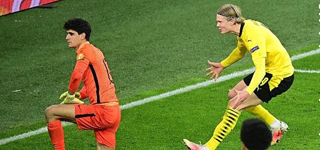 Foto: Haaland komt met heerlijke reactie na CL-incident