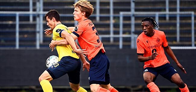 Foto: Club Brugge legt tiener onder contract