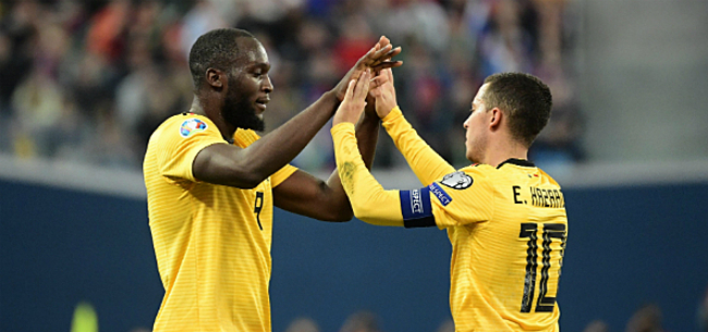 Foto: Stoppen Eden Hazard en Romelu Lukaku in 2022 als Rode Duivel?