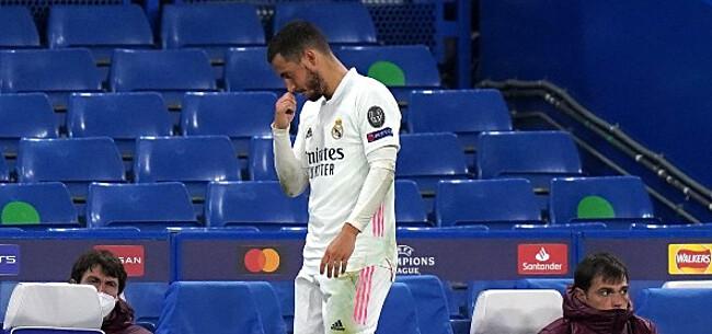 Foto: Oud-speler pakt Hazard aan: