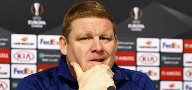 Foto: 'Vanhaezebrouck twijfelt over rentree naar AA Gent'