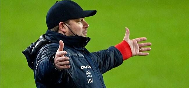 Foto: Vanhaezebrouck reageert na nieuw puntenverlies Gent