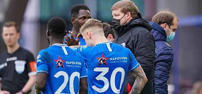 Foto: Vanhaezebrouck verhoort gebeden AA Gent-fans