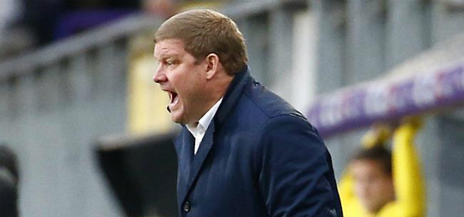 Foto: Staat de job van HVH uitgerekend tegen AA Gent op het spel?