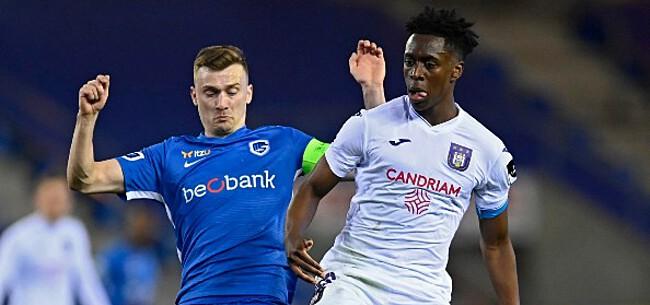 Foto: Club lachende derde: Anderlecht dient Genk puntenverlies toe
