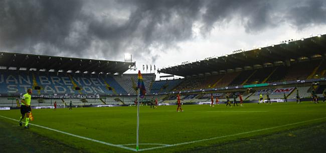 Foto: Hoop voor Club: hulp van regering in stadiondossier
