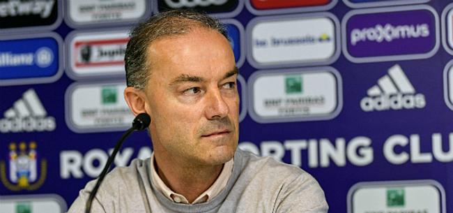 Foto: Anderlecht geeft toe: