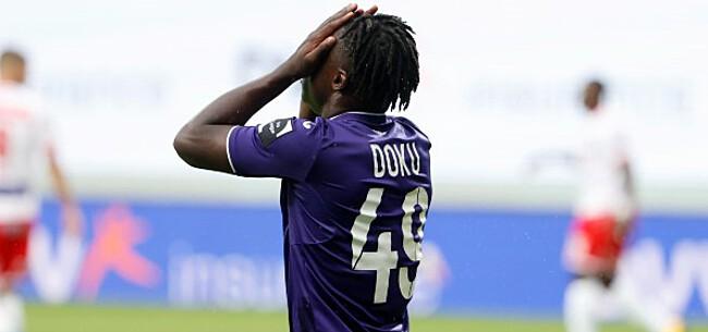 Foto: Hoe Anderlecht het vertrek van Doku nog altijd niet heeft verteerd