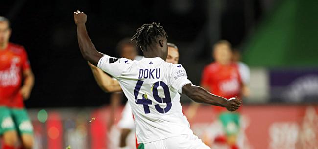Foto: 'Interesse neemt toe: Anderlecht grijpt in bij Doku'