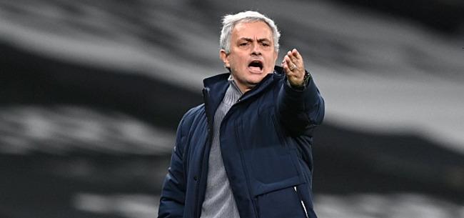 Foto: Mourinho haalt pers onderuit na glansprestatie Bale