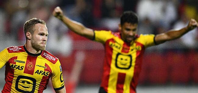 Foto: Sterk KV Mechelen legt Racing Genk over de knie in duel der landskampioenen