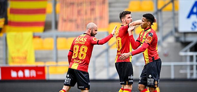 Foto: KV Mechelen veegt de vloer aan met Lierse Kempenzonen