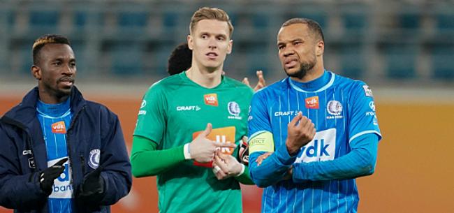 Foto: Odjidja geeft oorzaak voor mindere prestatie AA Gent