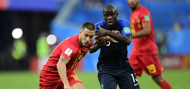 Foto: Fransen luiden alarmbel voor clash met Rode Duivels