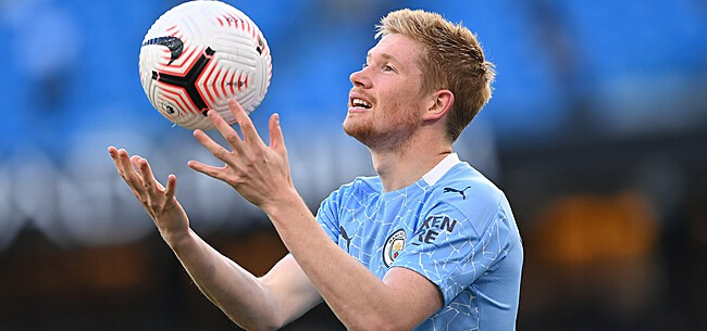 Foto: De Bruyne is back: KDB viert opgemerkte rentree