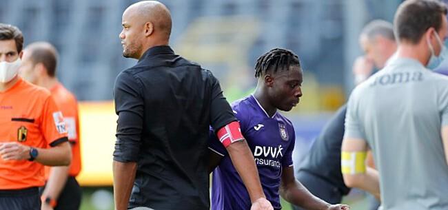 Foto: 'Doku zette Kompany & Anderlecht met rug tegen de muur'