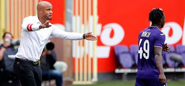 Foto: 'Kompany en Doku lijken transfer tegen te houden'