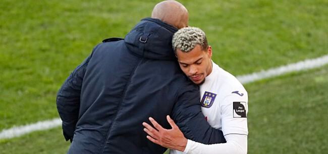 Foto: Zware domper Anderlecht: Nmecha kondigt vertrek aan