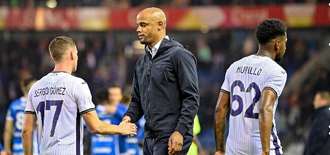 Foto: 'Bestuur van Anderlecht duidelijk over positie van Kompany'