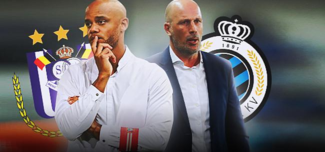 Foto: Kompany vs. Clement: hoe Anderlecht kan winnen van Club Brugge