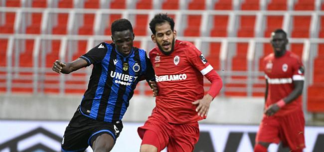 Foto: Club Brugge en Antwerp dienen klacht in na racistische tweet richting Haroun
