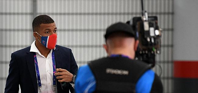 Foto: PSG furieus na positieve corona-test Mbappé