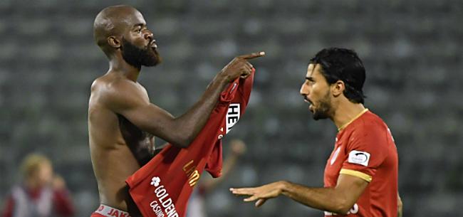 Foto: Anderlecht-fans reageren op flirt Lamkel Zé