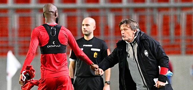 Foto: 'Antwerp slikt fikse domper, Lamkel Zé weer aan de aftrap'