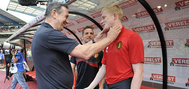 Foto: Leekens over rol in succes Rode Duivels: