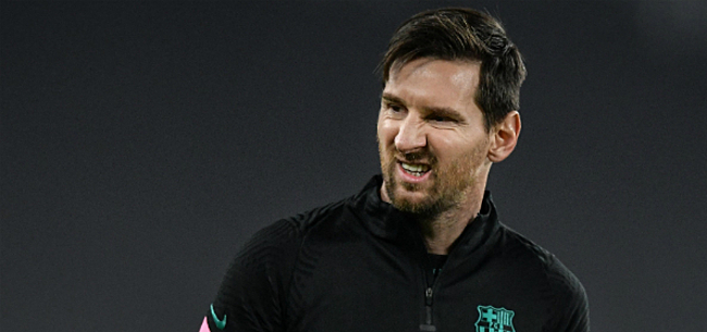 Foto: 'Spanningen tussen Messi en Koeman lopen hoog op'