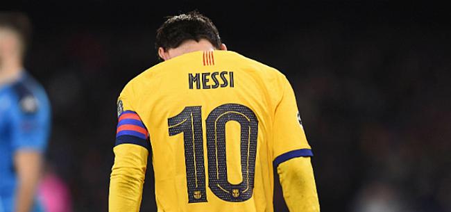 Foto: 'Lionel Messi maakt transfer dankzij tienjarenplan'