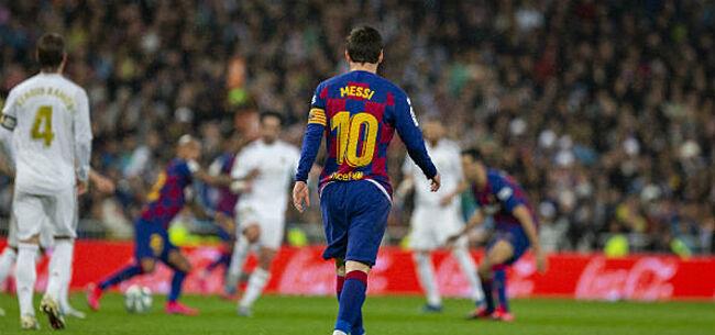 Foto: 'Messi dropt bommetje bij Barça na pijnlijke Clasico-nederlaag'