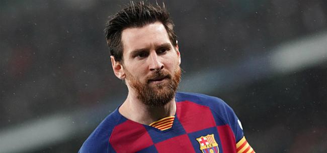 Foto: Messi geeft fiat voor transfer: