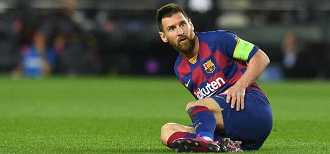 Foto: 'FC Barcelona legt Messi géén sancties op'