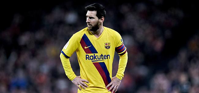 Foto: Messi haalt opnieuw uit naar Barça-bestuur: