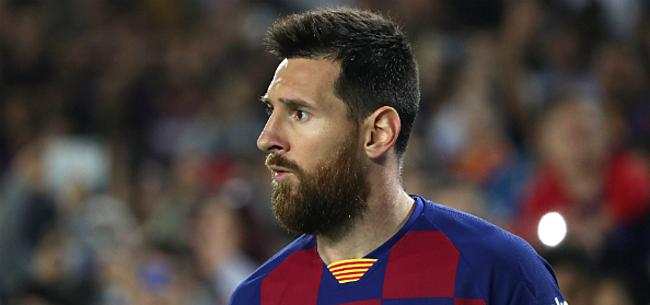 Foto: Setién doet biecht over Messi: