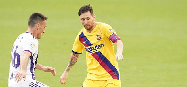 Foto: Magistrale Messi leidt Barça naar forfait-zege