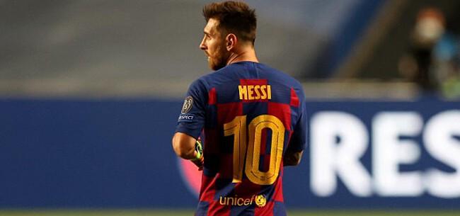 Foto: 'Messi heeft duidelijke reactie op interesse Juventus'