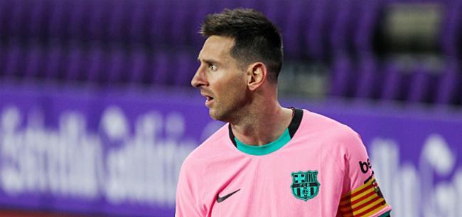 Foto: Messi blikt terug op vertrekaffaire: