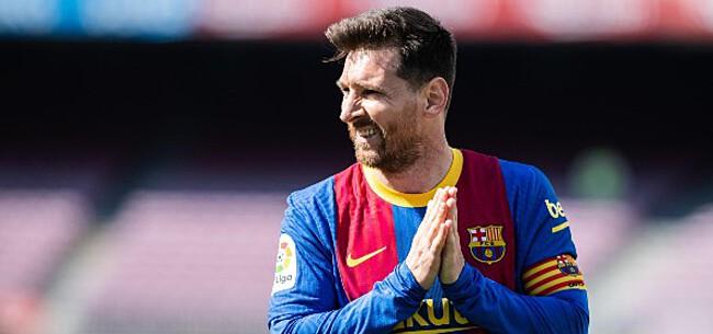 Foto: 'Eén club klaar om toe te slaan bij transfervrije Messi'