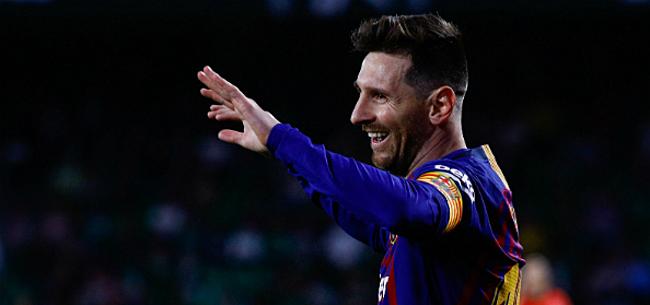 Foto: Messi doet Barça jubelen vlak voor La Liga-hervatting
