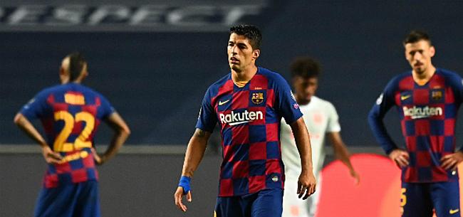 Foto: 'Barça stippelt transferroute voor Suarez uit'