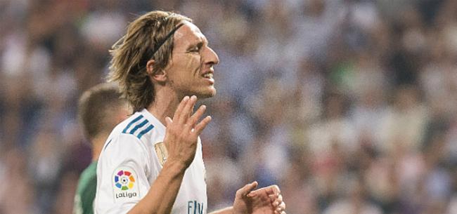 Foto: 'Modric verrast Real Madrid-staf met statement'