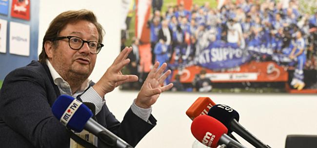 Foto: 'Coucke is duidelijk en wil zwaar uithalen op transfermarkt'