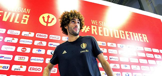 Foto: Martinez verkocht Fellaini flinke domper: