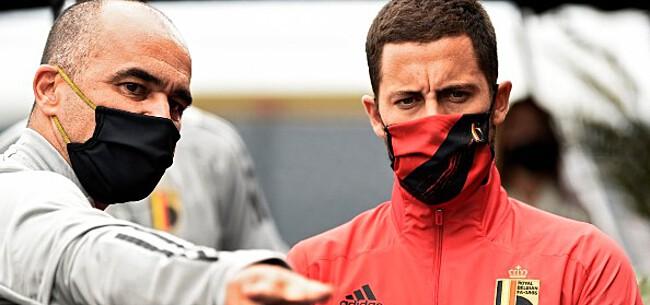 Foto: Martinez lijkt hint te geven over selectie Hazard
