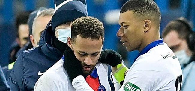 Foto: 'Spanningen bij PSG lopen op door streken Neymar'