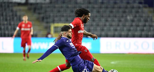 Foto: Anderlecht pakt last minute een zeer gevleid punt tegen sterk Antwerp